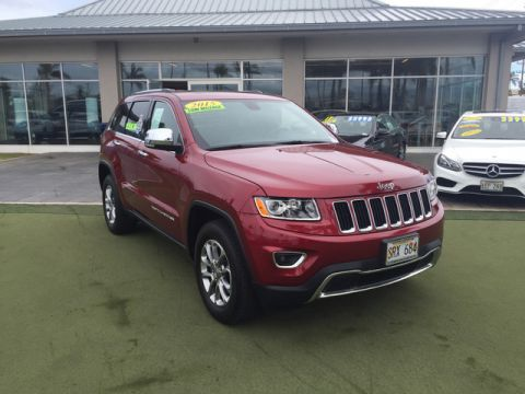 Pre-Owned 2015 Jeep Grand Cherokee Limited Four Wheel Drive SUV