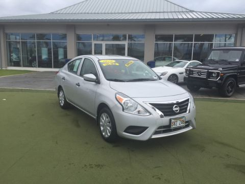 Pre-Owned 2016 Nissan Versa S Front Wheel Drive Sedan