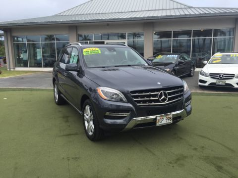 Certified Pre-Owned 2014 Mercedes-Benz M-Class ML 350 Rear Wheel Drive SUV