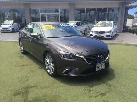 Pre-Owned 2016 Mazda6 i Touring Front Wheel Drive Sedan