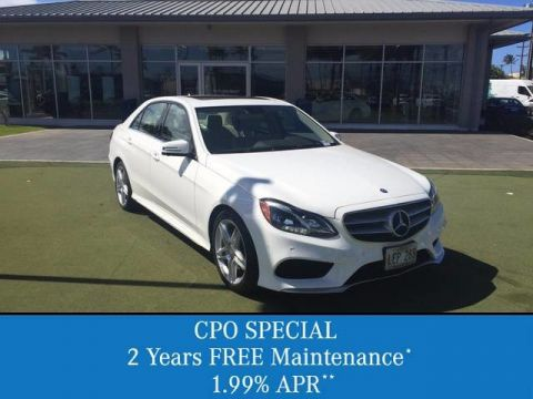 Certified Pre-Owned 2014 Mercedes-Benz E-Class E 350 Sport Rear Wheel Drive Sedan