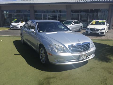 Pre-Owned 2007 Mercedes-Benz S-Class 5.5L V8 Rear Wheel Drive Sedan