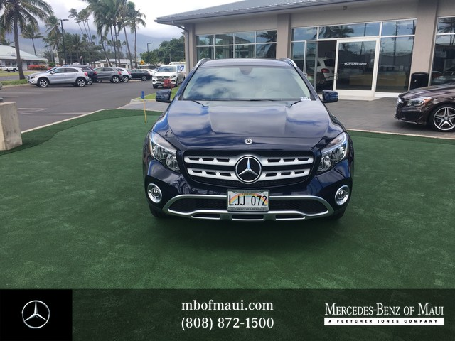 pre owned 2018 mercedes benz gla gla 250 suv in kahului fml50428