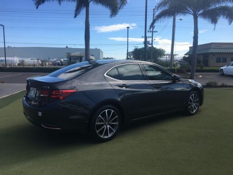 Pre-Owned 2015 Acura TLX V6 Front Wheel Drive Sedan