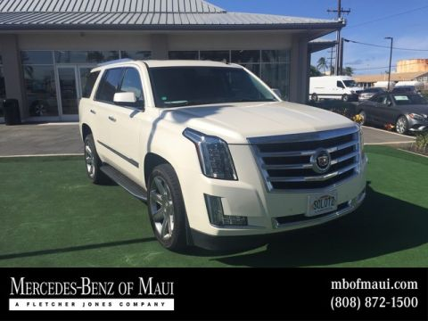 Pre-Owned 2015 Cadillac Escalade Luxury Rear Wheel Drive SUV
