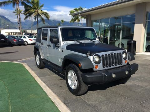 Pre-Owned 2008 Jeep Wrangler Unlimited X Four Wheel Drive SUV