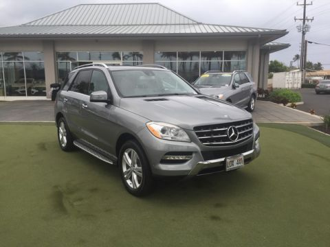 Pre-Owned 2013 Mercedes-Benz M-Class ML 350 Rear Wheel Drive SUV