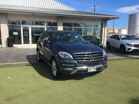 Pre-Owned 2014 Mercedes-Benz M-Class ML 350 Rear Wheel Drive SUV