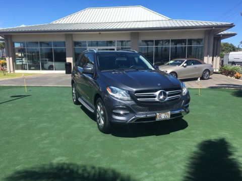 Certified Pre-Owned 2016 Mercedes-Benz GLE GLE 350 Rear Wheel Drive SUV