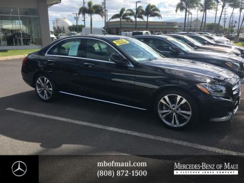 Pre-Owned 2018 Mercedes-Benz C-Class C 300 Rear Wheel Drive Sedan