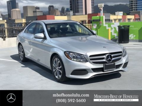 Certified Pre-Owned 2015 Mercedes-Benz C-Class C 300 Rear Wheel Drive Sedan