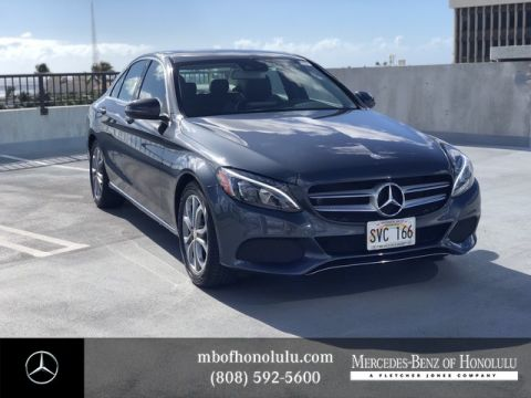 Pre-Owned 2016 Mercedes-Benz C-Class C 300 Rear Wheel Drive Sedan