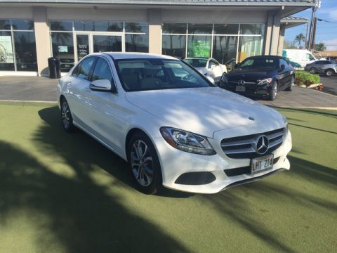 Pre-Owned 2017 Mercedes-Benz C-Class C 300 Rear Wheel Drive Sedan