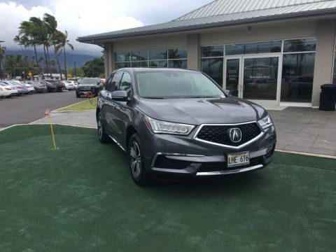 Pre-Owned 2017 Acura MDX Front Wheel Drive SUV