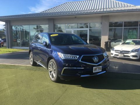 Pre-Owned 2017 Acura MDX w/Technology Pkg All Wheel Drive SUV