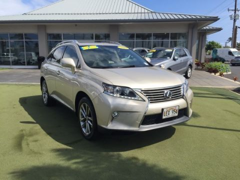 Pre-Owned 2015 Lexus RX 350 Front Wheel Drive SUV