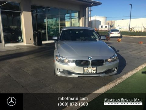 Pre-Owned 2012 BMW 3 Series 328i Rear Wheel Drive Sedan
