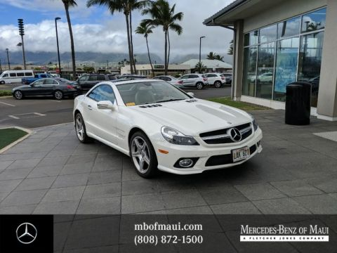 Pre-Owned 2009 Mercedes-Benz SL-Class SL 550 Rear Wheel Drive Coupe