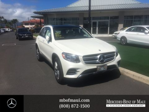 Certified Pre-Owned 2016 Mercedes-Benz GLC GLC 300 Sport Rear Wheel Drive SUV