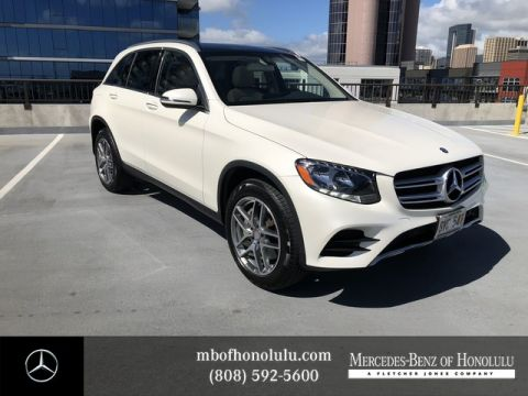 Certified Pre-Owned 2016 Mercedes-Benz GLC GLC 300 Rear Wheel Drive SUV