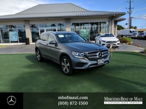 Pre-Owned 2016 Mercedes-Benz GLC GLC 300 Rear Wheel Drive SUV