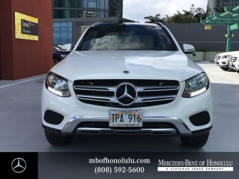 Pre-Owned 2018 Mercedes-Benz GLC GLC 300 Rear Wheel Drive SUV