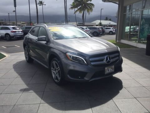 Certified Pre-Owned 2015 Mercedes-Benz GLA GLA 250 Front Wheel Drive SUV
