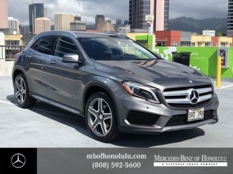 Certified Pre-Owned 2016 Mercedes-Benz GLA GLA 250 Front Wheel Drive SUV