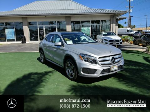 Certified Pre-Owned 2015 Mercedes-Benz GLA GLA 250 Sport Front Wheel Drive SUV