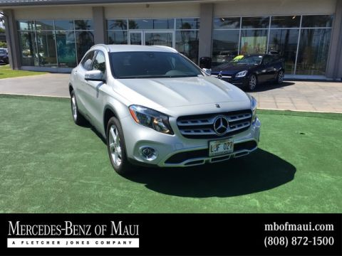 Pre-Owned 2018 Mercedes-Benz GLA GLA 250 Front Wheel Drive SUV