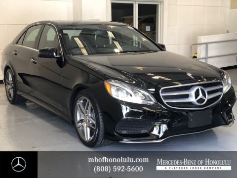 Pre-Owned 2016 Mercedes-Benz E-Class E 350 Sport Rear Wheel Drive Sedan