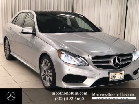 Certified Pre-Owned 2016 Mercedes-Benz E-Class E 350 Sport Rear Wheel Drive Sedan