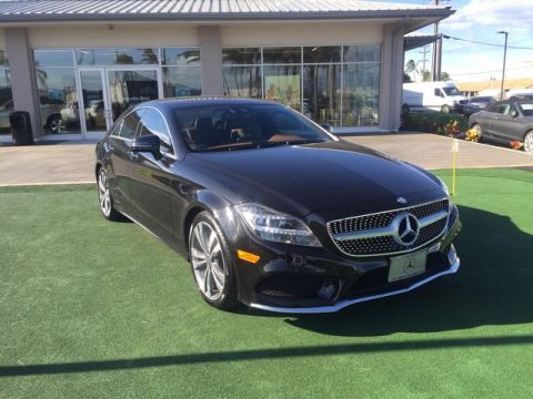 Certified Pre-Owned 2015 Mercedes-Benz CLS CLS 400 Rear Wheel Drive Coupe