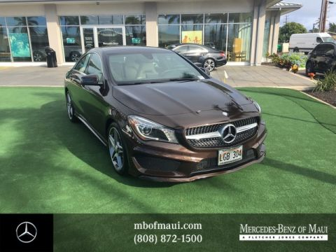 Pre-Owned 2015 Mercedes-Benz CLA CLA 250 Sport Front Wheel Drive Coupe