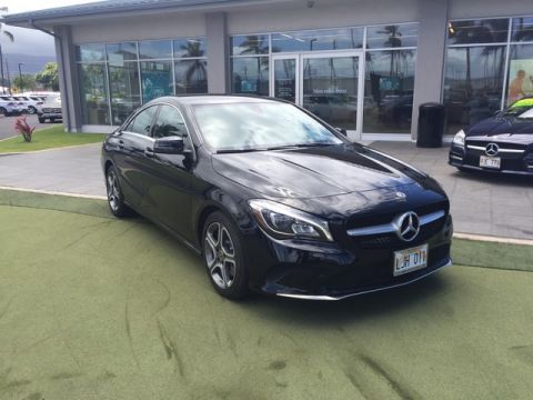 Pre-Owned 2018 Mercedes-Benz CLA CLA 250 Front Wheel Drive Coupe