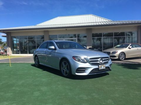 Pre-Owned 2017 Mercedes-Benz E-Class E 300 Rear Wheel Drive Sedan